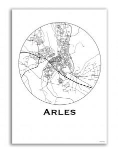 Poster Arles France...