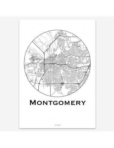 Affiche Poster Montgomery USA...