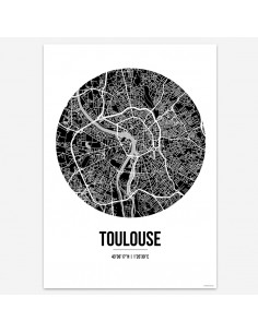 Poster Toulouse France...