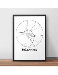 Affiche Poster Sézanne