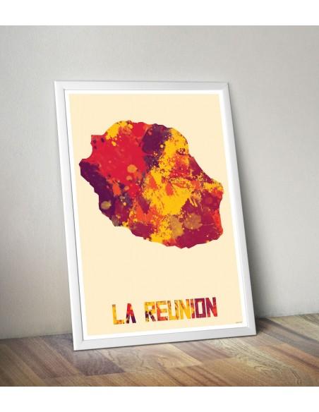 Affiche La Réunion