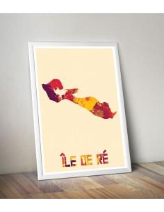 Poster Ile de Ré