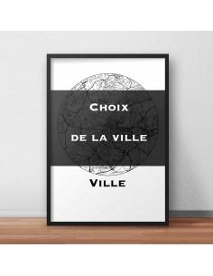 Affiche Poster Ville...