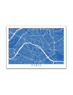 Poster Manchester Street Map
