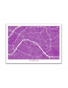 Poster Leeds England Street Map