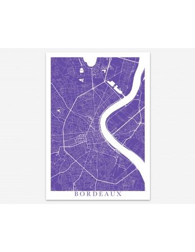 Poster Saint-Pierre Saint-Pierre-et-Miquelon Minimalist Map