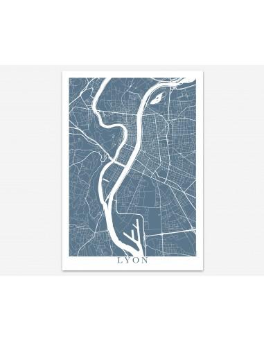 Poster Stockholm Sweden Minimalist Map